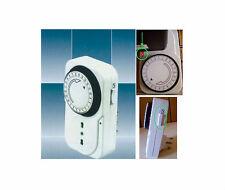TIMER Switch regolabile risparmio energetico.220V,corrente,0-24h.Interruttore