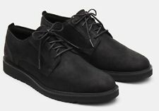 Timberland Wesley Falls Oxford Black Leather Mens Sneakers Shoes UK 9.5 / EU 44