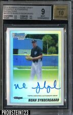 (1) Noah Syndergaard 2010 Bowman Chrome Prospects Ref auto autograph RC rookie