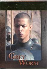Game Of Thrones Season 3 Gold Parallel Base Card  89 Grey Worm