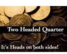Two Headed Quarter, Trick / Magic Coin..
