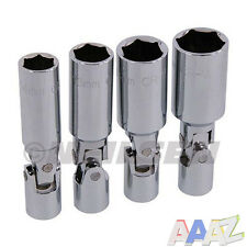 """4pc 3/8"""" Dr Spark Plug Socket Set with 14, 16, 18 & 21mm Sockets"""