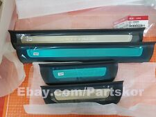 Fit for KIA 2017 ~ Sportage QL Inside Door Scuff Step Plate Genuine Parts 1 SET