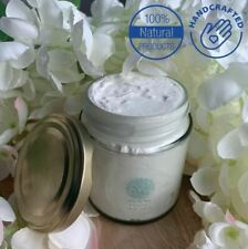 100% Natural & Organic Whipped Body Cream VANILLA ROSE LEMON or COCONUT scents