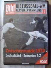 WM Klassikersammlung 11 Halbfinale 1974 Deutschland vs Schweden DVD + Heft