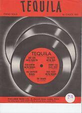 Tequila-piano solo - 1958 sheet music
