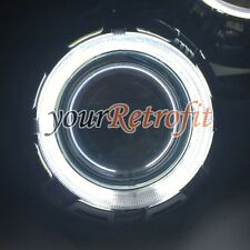 "Pair Orbit Shrouds for 2.5''&3.0"" Projector Lens,With 2X CCFL White Angel Eyes"