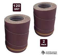 Drum Sander Sanding Wraps/Rolls, 120g for JET/Performax 16-32 &Ryobi WBS1600, 2