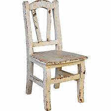 "Youth Kid-Size Wood Chair Cream 12.5""x25.5"" - 30191Crea"