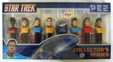 Star Trek PEZ Dispensers Kirk Spock McCoy USS Enterprise Factory Sealed Limited