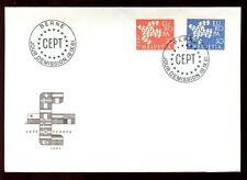 Svizzera 1961 Europa FDC #C 6402