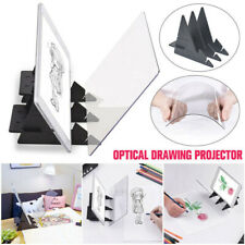 Optical Drawing Projector Painting Tracing Board Slim Mobile Tablet Transparent