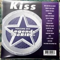 LEGENDS KARAOKE CDG KISS CLASSIC ROCK OLDIES #203 16 SONGS CD+G BETH,LICK IT UP