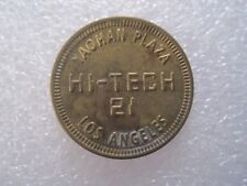 Yaohan Plaza Hi-Tech 21 Los Angeles California Token Coin 0826-1