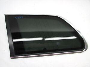 11 VOLVO XC90 QUARTER WINDOW GLASS REAR LEFT OEM 03 04 05 06 07 08 09 10 12 13