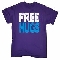 Free Hugs T-SHIRT tee love funny birthday gift 123t present for him