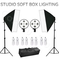 2200W Softbox Stand Kit Photography Studio Continuous Lighting Support Soft Box