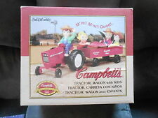 NRFB Campbells 1998 Diecast TRACTOR WAGON w/KIDS by ERTL Limited Edition S17D