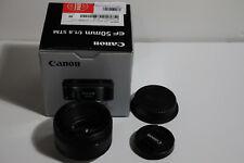 Canon EF 50mm f/1.8 STM SLR Like NEW