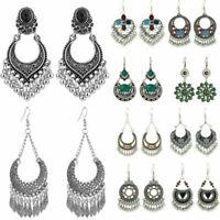 Gypsy Boho Tassel Chandelier Dangle Hook Earrings Bohemian Women's Jewelry Gifts