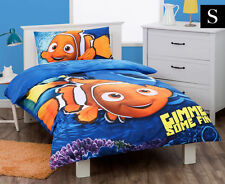 SINGLE BED DISNEY FINDING NEMO DORY KIDS QUILT DOONA COVER + PILLOWCASE SET!