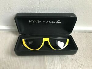 Mykita & Martine Rose yellow sunglasses