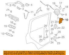 VW VOLKSWAGEN OEM 11-18 Jetta Front Door-Lock Cover Left 5K0837349B
