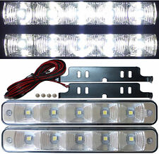 2x 5SMD LED Tagfahrlicht megahell TÜV R87 Modul mit Steuermodul E4 RL00 TFL V1