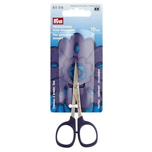 Feine Stickschere Professional 10 cm Prym 611514 Spezial - Stahl aus Japan
