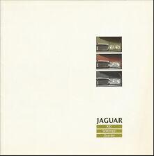 brochure 1988 JAGUAR XJ6, SOVEREIGN & DAIMLER !!! GERMAN TEXT