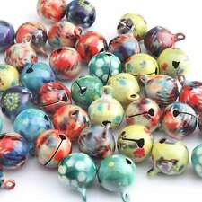 200 New Mixed Colorful Cute Decoration Jingle Ball Bells 14mm 270009
