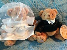 NOS 2002 CHERISHED TEDDIES PLUSH BRIDE AND GROOM