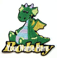 Dragon Custom Iron-on Patch With Name Personalized Free