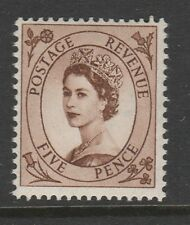 SPECIAL OFFER GREAT BRITIAN 1955 5d EDWARD WATERMARK SG 547 MNH.