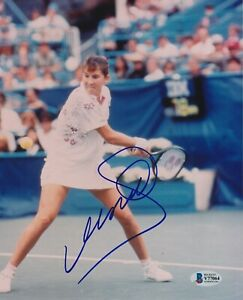 MONICA SELES Signed 8x10 PHOTO with Beckett COA