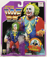 Hasbro WWF Series 9 Doink The Clown Purple Card Wrestling Figure WWE MOC 1994