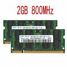4GB 2x 2GB PC2-6400S 2Rx8 DDR2 800MHz 200Pin DIMM Laptop RAM For Samsung UK