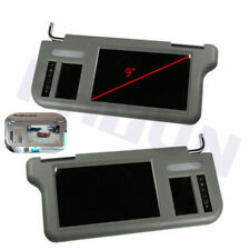 "2x Car Sun Visor 9"" Monitor AV1 AV2 L+R For Reverse Camera DVD VCD GPS TV Input"