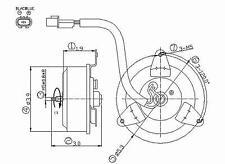 Engine Cooling Fan Motor Right TYC 630680 fits 97-04 Mitsubishi Montero Sport