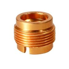 """Gold Metal Adapter 5/8"""" Male to 3/8"""" Female Mic Screw for Microphone Stand"""