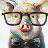 5D Full Drill Diamond Painting Pig Cross Stitch Kits Embroidery DIY Arts DIY