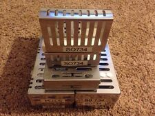 Lot Of Hu Friedy Cassettes And Bur Holders
