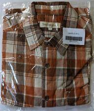 Territory Ahead Men's Button Down Short Sleeve Shirt New XLT Clay