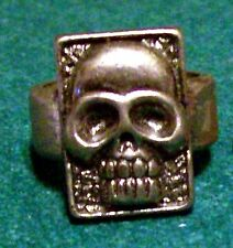 THE PHANTOM THE GHOST WHO WALKS METAL SKULL RING PROMOTIONAL RING FOR MOVIE