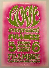 MINT Vintage BG 21  Wes Wilson 2nd Print 'A' 1966 Love Bill Graham Fillmore