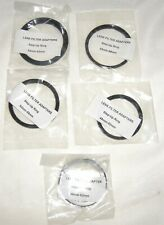 5 Step-Up Rings Lens Filter Adapters Japan 46-52mm 49-52mm 52-58mm 55-58mm 55-62