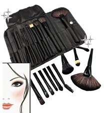 11pc Professional Make Up Brush Set Cosmetic Applicator Makeup Brushes Tool Case