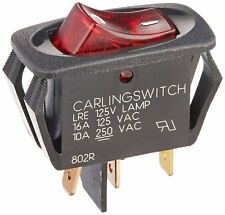 """Oreck Switch, Kit Lighted with 1/8"""" Terminals Type 6/7 #75523-03"""