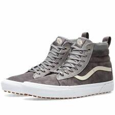 Vans SK8-Hi SK8 Hi MTE Gray Suede Fur Lined Sneakers Shoes 7 M / 8.5 W NEW w Box