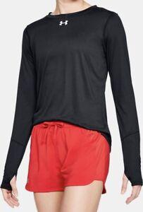 Under Armour Women's UA Locker 2.0 Long Sleeve T Shirt. Black.Medium.1305681-001
